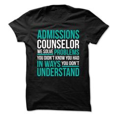 ADMISSIONS-COUNSELOR - Solve Problems - #checkered shirt #big sweater. CHEAP PRICE => https://www.sunfrog.com/No-Category/ADMISSIONS-COUNSELOR--Solve-Problems.html?68278