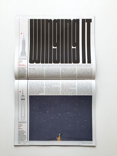 Reading up and down – how the NYT Magazine gained extra height for its Life Above 800 Feet issue – Creative Review