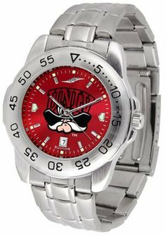 Las Vegas Rebels (unlv)- University Of Sport Steel Band Ano-chrome - Men's - Men's College Watches by Sports Memorabilia. $59.95. Makes a Great Gift!. Las Vegas Rebels (unlv)- University Of Sport Steel Band Ano-chrome - Men's
