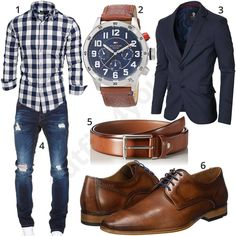 Herrenoutfit mit kariertem Hemd, Sakko und Jeans #hemd #sakko #business #jeans #outfit #style #herrenmode #männermode #fashion #menswear #herren #männer #mode #menstyle #mensfashion #menswear #inspiration #cloth #ootd #herrenoutfit #männeroutfit #mann #gentlemen