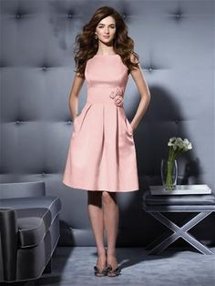Tea length bridesmaid dress.  bridal party dresses.  Sleeveless bridesmaid dress by Dessy.  $170.00  Click Here http://www.modelbride.com/Dessy-Bridesmaid-Style-2780-Prodview.html: for more bridesmaid dresses
