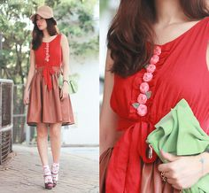 Rose Tatu Rose Blush Top, Chicwish Faux Leather Skirt, Miu Miu Bow Heels