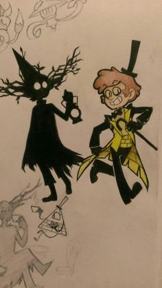 Dipper and Wirt Evil Forms