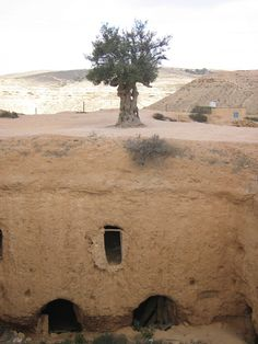 Ancient underground house in Guryuan, Libya #travel #vacation #rentals www.goldsuites.com