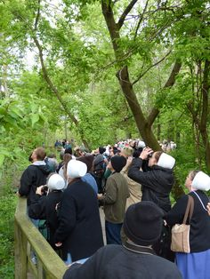 More than just birds are drawn to the famed Magee Marsh boardwalk, the birders flock to the place as well! Leica V-lux 3 #biggestweek https://www.facebook.com/photo.php?fbid=444659205562457=a.444659055562472.117192.355103211184724=3