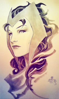 Scarlet Witch by Jim Cheung *