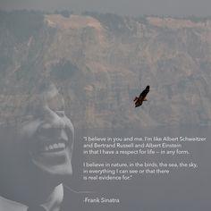ameatfreemonth.org #animalrights #animalwelfare #vegan #veganism #inspiration #quote #health #animals #Sinatra #FrankSinatra