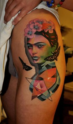 Frida Kahlo by Marcin Aleksander Surowiec