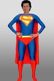 Red And Blue Lycra Spandex Superman Zentai Suit Superhero Fancy Dress Costume Superman Halloween Costume, Superman Costumes, Halloween Party Costumes, Halloween Outfits, Halloween Cosplay, Superman Suit, Superman Cosplay, Superhero Fancy Dress, Superhero Suits