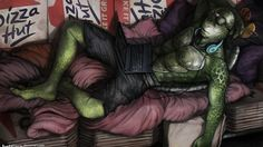 Donnie Ninja Turtles movie 2014 Art! Been on the watch for this pic to turn up! Great drawing!