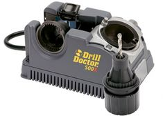 Drill Doctor Drill Bit Sharpener is ideal to sharp high speed steel, masonry, carbide and tin coated bits. The Drill Doctor sharpener is made to work with larger drill bits in the size of and it is perfect to sharpen to bits with one chuck. Power Tool Accessories, High Speed Steel, Tool Steel, Metal Roof, The Life, Power Tools, Tool Kit, 3 D, All In One