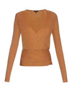 Ribbed-knit cashmere wrap-around cardigan | Etro | MATCHESFASHION.COM US