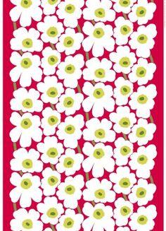 Marimekko fabric is delighful! Textile Patterns, Textile Design, Fabric Design, Print Patterns, Pattern Design, Textiles, Floral Patterns, Shibori, Marimekko Fabric