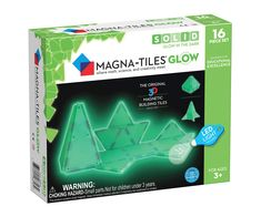 Magna Tiles Glow in The Dark Set ? LED Light Included ? The Original, Award-Winning Magnetic Building Tiles ? Creativity and Educational ? STEM Approved -- Click on the image for additional details. (This is an affiliate link)
