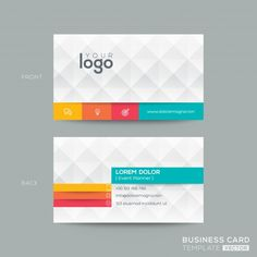 48 best business card templates plantillas images on pinterest 20 elegantes plantillas para tarjetas de visita 500 resubidas template for businessfree business cardsbusiness flashek Images
