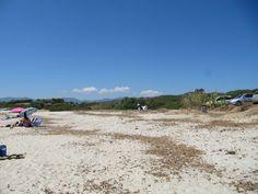 The first beach we went to near Capo Ferrato