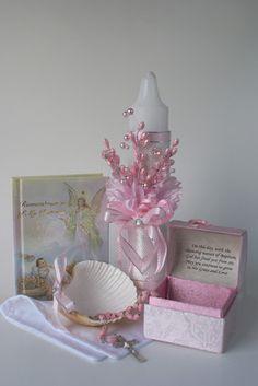 Baptism Candle Missal Rosary Shell Complete Set for Baptism | eBay