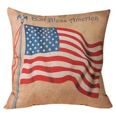 I pinned this Flag Indoor/Outdoor Pillow from the Presidential Panache event at Joss and Main!