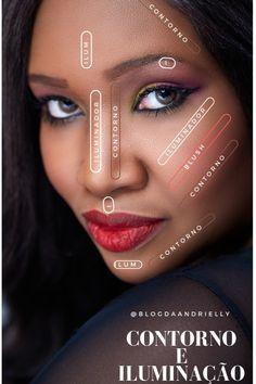 Como usar as paletas de contorno da dazzle Makeup Tips, Beauty Makeup, Hair Beauty, Eyelash Sets, Glitter Eye Makeup, Natural Eye Makeup, Mary Kay, Beauty Care, Makeup Inspiration