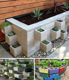 NapadyNavody.sk | 24 úžasných nápadov, ako využiť betónové tvárnice do záhrady alebo domácnosti