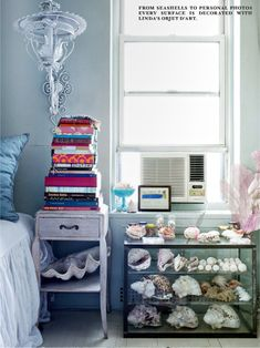 *Lovely Clusters - The Pretty Blog: Linda Rodin Olio's Home