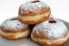 What a wonderful jelly filled donut as we in America call it. Also a great way to keep the Jewish tradition and enjoy the sweetness that life gives us! God Bless You!