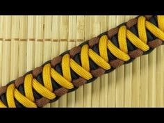 How to make a Barracuda Sinnet Paracord Bracelet Tutorial (Paracord 101) - YouTube