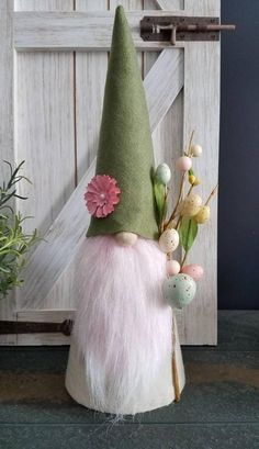 Check out this item in my Etsy shop https://www.etsy.com/listing/594534677/easter-gnome-nisse-tomte-spring-easter