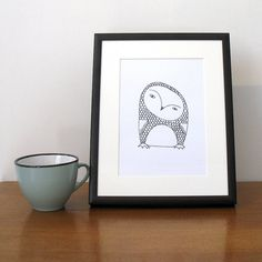 animal signed print by koodles | notonthehighstreet.com
