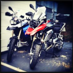 F800GS and R1200GS