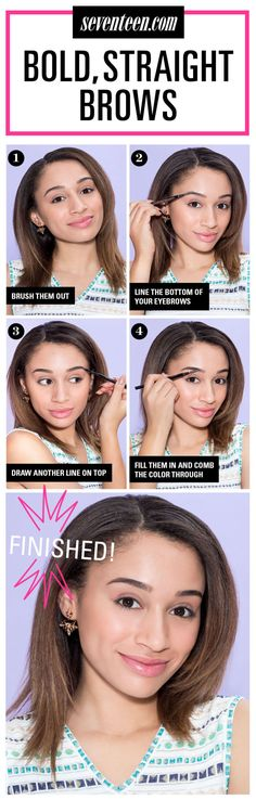 So, in case you haven't heard, a subtle, soft arch is THE cool new thing on the beauty scene. Here's a trick that will help you nail it every. single. time!