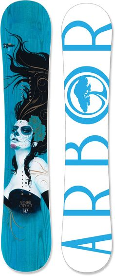 I don't even snowboard. But I saw this in person at life-size and I wanted to buy it just for the artwork.