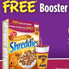 Booster Juice GRATUIT! Snack Recipes, Snacks, Canada, Pop Tarts, Smoothie, Coupons, Juice, Free, Tapas Food