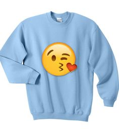 cute emoji sweatshirt #sweatshirt #sweatshirts #shirt #clothing #cloth #crewneck #sweater #sweaters