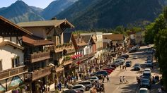 Visit Leavenworth Washington, USA | Hotels, Lodging, Festivals & Events.   I have visited Leavenworth in October for their Oktoberfest and in December for their Christmas Lighting Festival. . . both a must do!