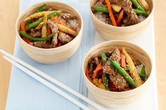 sesame and beef stir