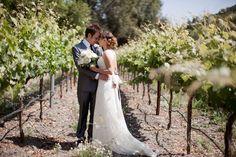 vineyard wedding; california www.kbdigitaldesigns.com