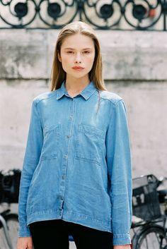 Vanessa Jackman - perfect denim shirt