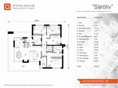 """Villa """"Säröliv"""" planritning  www.attefalls.se"""