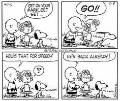 #peanutsspecials #ps #pnts #schulz #snoopy #charliebrown #frieda #mark #getset #go #speed