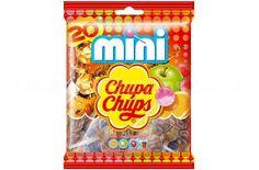 Mini Chupa Chups Original Lollipops available on www.chocolatebuttons.co.uk