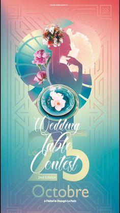 """Le """"Wedding Table Contest"""" est le premier concours d'art de la table de mariage. Co-organisé par les étudiants en Wedding Design de l'école Jaelys. Reservez vos places, billetterie: www.weddingtablecontest.com RDV le 25 Octobre 2021 au Shangri-La Shangri La, Wedding Table, Wedding Planner, Neon Signs, Artwork, Inspiration, Beginning Sounds, Wedding Planer, Biblical Inspiration"""