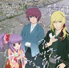 """flightstone: """"Anthology Drama CD Cover Tales of Graces f 2013 Winter """" Tales Of Graces, Tales Of Zestiria, Tales Series, Favorite Pastime, Cd Cover, Anime, Drama, Fan Art, Manga"""
