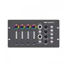 Buy the LEDJ EasiLED 4 DMX Controller from DJkit UK, 0% Interest Free Finance available on all DJ Equipment sales.