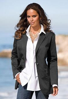 Loved this blazer, almost bought it for work, but you know me- found a cheaper version elsewhere!