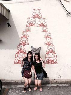 Penang Armenian Art Street Mural Art, Street Art, Wall Art, Mural Wall Art, Mural Painting, Wall Paintings