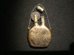 Briquet artisanal de poilu Verdun 1916 gourde - casque médaille WW1 -COMPLET.