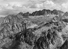 North Palisades-Ansel Adams -(Antique-Old Photo) 8x10 Print-Reproduction