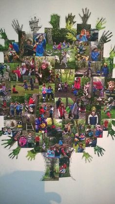 Documentation presented aesthetically and collaboratively is a key part of the Reggio Emilia Approach Outdoor Education, Outdoor Learning, Outdoor Play, Eyfs Outdoor Area, Reggio Classroom, Outdoor Classroom, Classroom Decor, Classroom Family Tree, Primary Classroom Displays