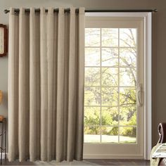for your sliding door and large living room window.   ideas for ... - Patio Door Window Treatment Ideas